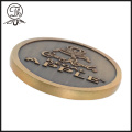 Bronze Singapore metal coin OEM designs