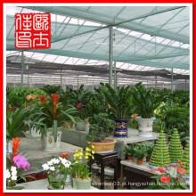 Rede de sombra verde agrícola e redes de sombra para jardim e rede de guarda-sol