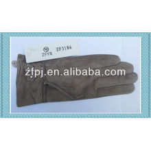 2014 fashion ladies designer pig gants en cuir blanc