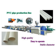 pvc water pipe extruding machine/production line