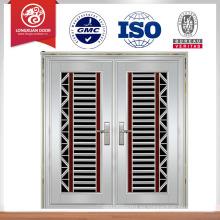 Puerta principal puerta de acero inoxidable diseño de la puerta de seguridad