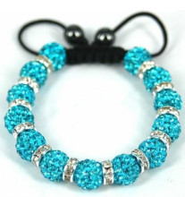 Wedding Accessories Jewelry Shamballa Rhinestone Bracelet
