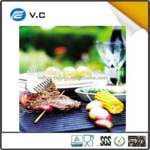 LFGB FDA certified Easy Clean BBQ grill mat scientifically designed 100% non-stick BBQ grill mat