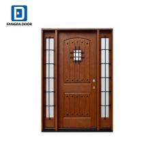 Фанда деревенском стиле декоративные главный вход конструкция двери для дома