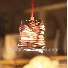 Décoration Creative Art Rotin Forme Céramique Plafond Lampes