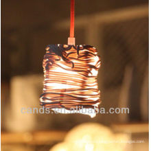Decoration Creative Art Rattan Shape Ceramic Ceiling Lamps