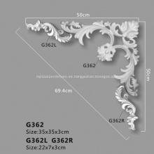 Adornos decorativos arquitectónicos de poliuretano