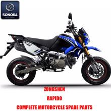 Zongshen RAPIDO1 Complete motorbody kit Reserveonderdelen Originele reserveonderdelen