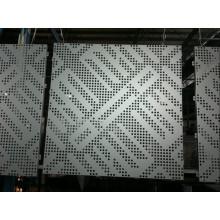 Алюминиевая перфорированная панель для лифта (GLPP 8017)