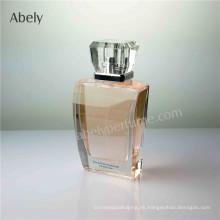 75ml botella de perfume de vidrio pulido para Eau De Parfum
