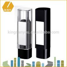 Mirror plastic makeup case OEM lipstick tube