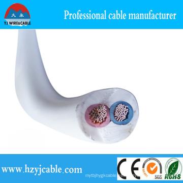 2 Cores 3 Cores Cable de la vaina del PVC
