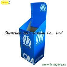 Caixa de exposição ostentando do cartão dos bens / escaninho da descarga papel (B & C-C020)