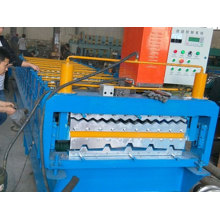 Double-Deck Roll Roofing Corrugated Tile Forming Roofing Machine