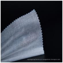 tecido de poliéster malha mão dura sentindo forro tecido