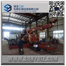 Heavy Duty Sliding Rotator Carro de remolque de 50 toneladas