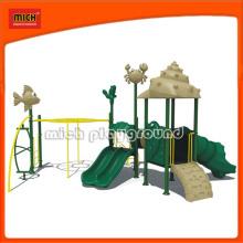 CE Criança Plástico Outdoor Playground Equipamento para o parque de diversões