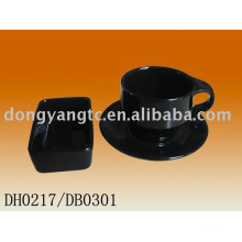 Factory direct wholesale 200cc ceramic coffee set