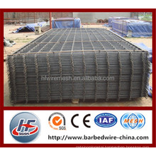 Ribbed welded wire mash panels,concrete reinforcement wire mesh panel,rebar welded wire mesh panel