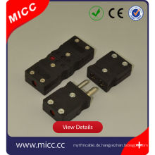 Thermoelement-Stecker / Mikro-Thermoelement-Stecker