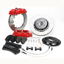 Aluminum forged racing upgrade WT5200 four-piston brake calipers for BMW F30 325d 17rim wheels  CP5200 Family - 152mm Mounting Centres - 16.8mm thick pad
