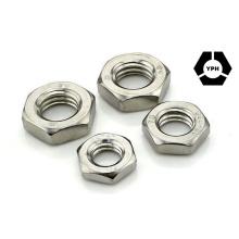DIN439 Écrou de confiture hexagonale en acier inoxydable