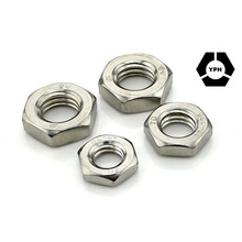DIN439 Hex Jam Nut Stainless Steel