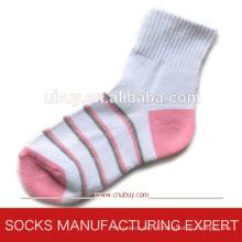 Chaussettes sport en coton à manches longues