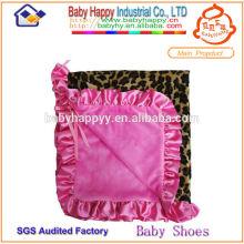 Meistverkaufte hochwertiges weiches rosa Leoparddruckbaby