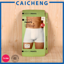 Customized mens underwear carton packaging garment boxes
