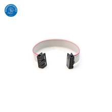 Pas de 1.27mm 10 voies fabricant plat de câble de ruban