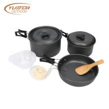 Lightweight  Aluminum alloy cast iron camping cookware