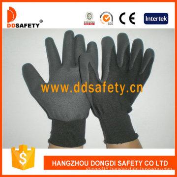 Black Nitrile Coating Glove-Dnn458