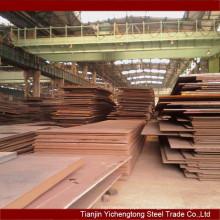 Vendeur en gros !!! bon marché prix laminé à chaud faible en acier allié Q345E plaque / tôle d'acier