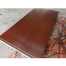Tablero de la melamina en tablero de partículas / madera contrachapada / MDF (ZHUV)