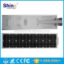 40W impermeável ip65 sensor de movimento integrado rua luz solar