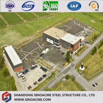 Modern Design ISO Certified Steel Warehouse / Building / Construction