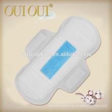 Los cojines sanitarios de las señoras súper suaves de la mejor calidad producidos por los fabricantes de China