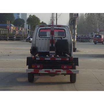 Gasoline Engine Small Arm Roll Garbage Truck