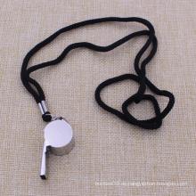Promotion Custom Outdoor Metal Whistle mit Lanyard