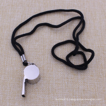 Promotion Custom Outdoor Metal Whistle with Lanyard