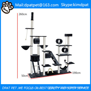 Factory Wholesale Pet Product Deluxe Cat Tree