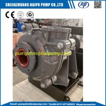 V belt drive horizontal AH slurry pump