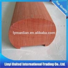 main courante en chêne rouge de haute qualité sculptant le poteau en bois à des prix compétitifs