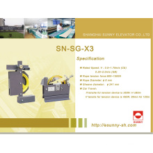 Régulateur de vitesse système de sécurité d'ascenseur (SN-SG-X3)