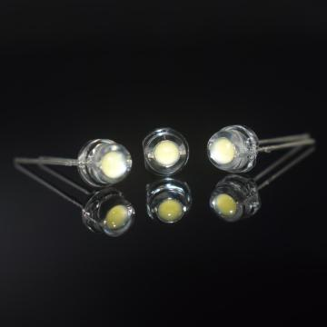 5mm White LED Cool White 8000-11000K