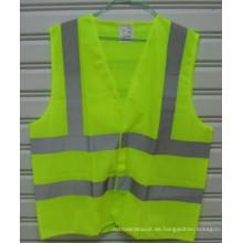 Hohe Sichtbarkeit Sicherheits-Reflex-Jacke für Fahrbahn