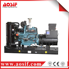 Korea generator doosan power generator160KW 200KVA P086TI diesel generator