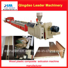 PP PE PVC+Wood (WPC) Wood Plastic Composites Making Machine