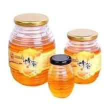 Min Size 100ml Honeycomb Shape Glass Jars for Packaging Honey